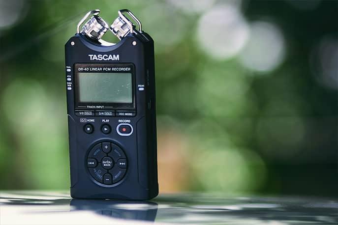 Aufnahmegerät Tascam